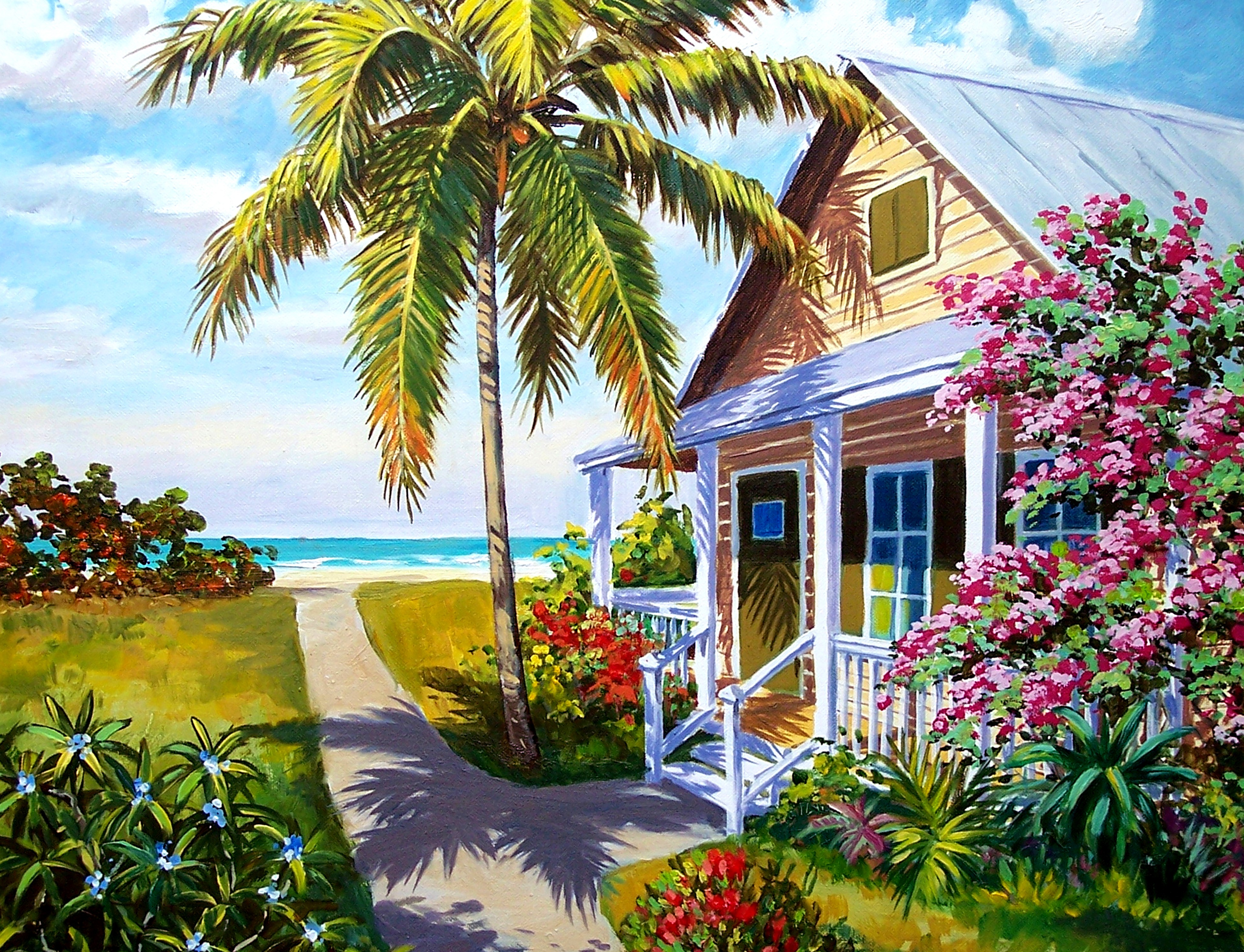 paintings of historic houses u0026 lighthouses by george k salhofer